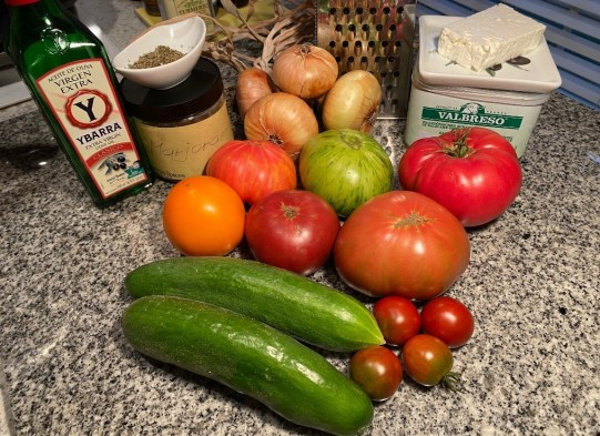 tomato salad ingredients