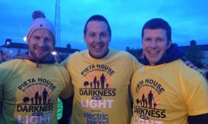 Jackie Tyrrell, Peter 'Chap' Cleere and Michael Rice at 2015's DIL event in Kilkenny. Photo: Peter Cleere/Twitter