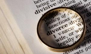 Divorce in dictionary