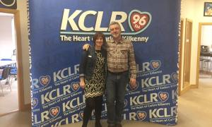 Martin Bridgeman and Eleanor McEvoy for a Studio 2 Session on KCLR