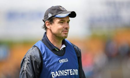 Galway minor hurling manager Geoff Lynskey. Photo: GAA.ie