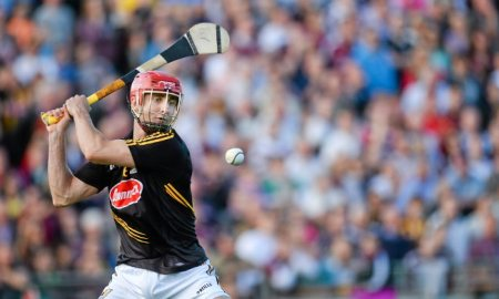 David Herity in action for Kilkenny in 2014