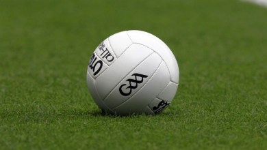 A gaelic football lies on a pitch. Source: FILE PHOTO