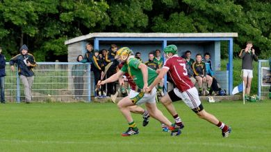Carrickshock and Clara in league hurling action. Photo: KilkennyGAA.ie