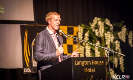 Henry Shefflin at the launch of his autobiography on Thursday 24 September 2015. Photo: Ken McGuire/KCLR