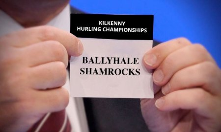 Ballyhale Shamrocks drawn from the pot for the Kilkenny Hurling Championships - Photo Mockup