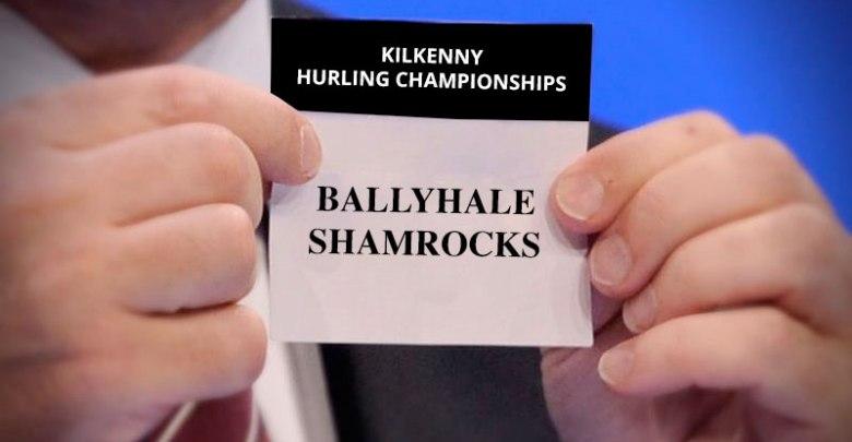 Ballyhale Shamrocks drawn from the pot for the Kilkenny Hurling Championships - Photo Mockup