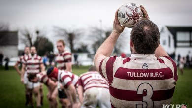 Tullow, pictured in Leinster League rugby action against Kilkenny at Foulktown, November 2014. Photo: Ken McGuire/kenmcguirephotography.com