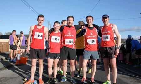 Some of the members of Gowran Athletics Club involved in the annual Stook 10 event. Photo: Gowran AC