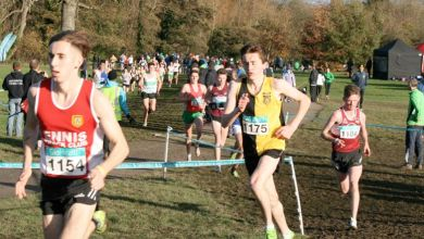 Kilkenny's Peter Lynch pictured at the GloHealth National Cross Country Championships in Santry, November 2015. Photo: Kilkenny Athletics