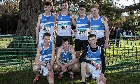 St. Laurence O'Toole's made it a hat-trick of All-Ireland wins for their U18s at the National Cross Country Championships in Santry. Photo: St. Laurence O'Toole's AC/Facebook