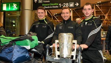 Kilkennys Paul Murphy, Richie Hogan and Ger Aylward. Pic. gaa.ie