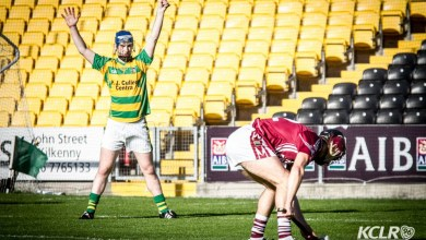 Bennettsbridge claimed the 2015 Kilkenny intermediate hurling championship with a win over St. Patrick's Ballyragget in 2015. Photo: Ken McGuire/KCLR