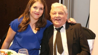 Claire Grace and Jimmy Walsh at the IABA awards in Jan 2016 - PIC Credit iaba.ie