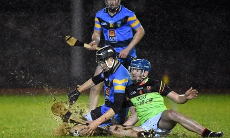 IT Carlow in action against UCD. Pic: Gaa.ie