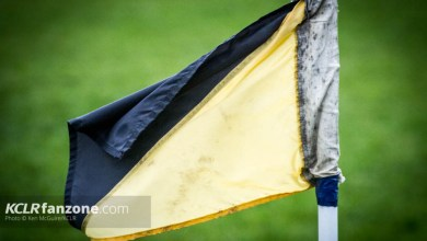 Carlow Rugby Flag. Ken McGuire/KCLR
