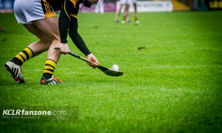 Eoin Murphy picured in free-taking mode against Tipperary in the 2016 Allianz Hurling League. Photo: Ken McGuire/KCLR