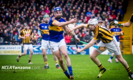 Tipperary in action against Kilkenny at Nowlan Park on Sunday 21 February 2016. Photo: Ken McGuire/KCLR