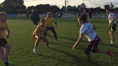 Tag rugby at Kilkenny Rugby Club, Foulkstown. Photo: Kilkenny Tag Rugby/Facebook