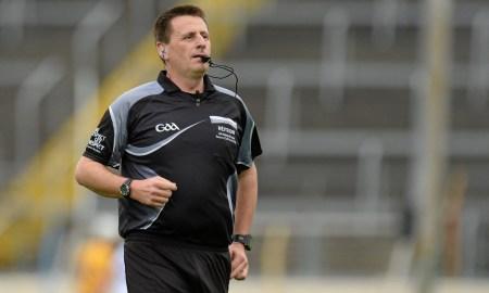 Referee Brian Gavin. Photo: gaa.ie