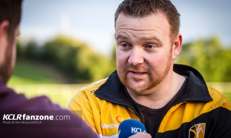 Kilkenny intermediate camogie manager Mike Wall. Photo: Ken McGuire/KCLR