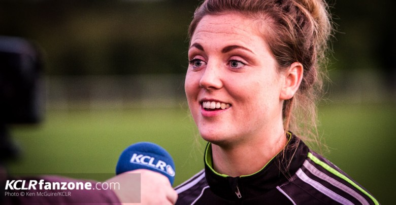 Kilkenny senior camogie's Sarah Ann Quinlan. Photo: Ken McGuire/KCLR