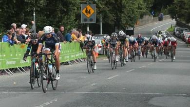 An Post Ras na mBan Stage 2 8/9/2016 Melissa van Neck of the Regioteam Noord-Holland wins todays stage. Photo: Lorraine O'Sullivan
