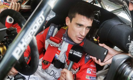 Craig Breen at WRC Rally de Espana. Photo courtesy Jamie Kent.