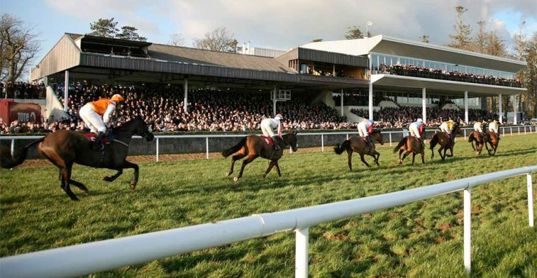 Horse racing at Gowran Park. Photo: GowranPark.ie
