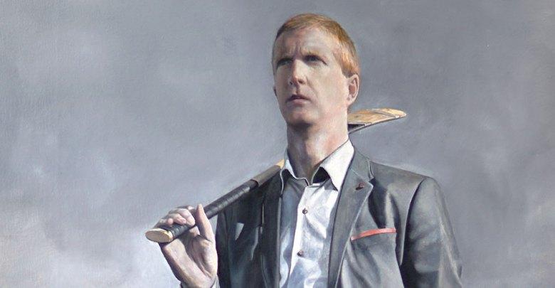 Portrait of Henry Shefflin courtesy Gerry Davis. (National Gallery of Ireland)