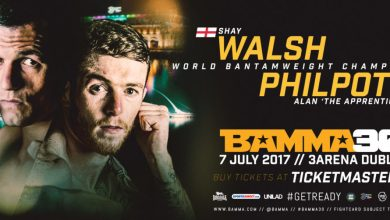 Alan Philpott v Shay Walsh (BAMMA 30)