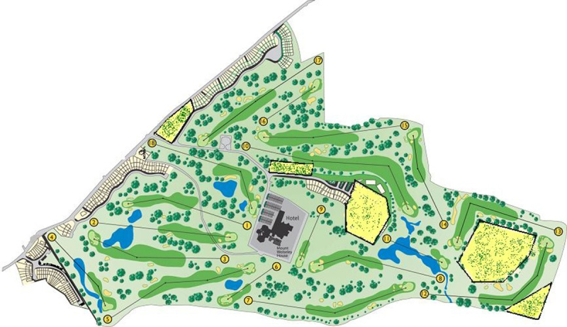 Mount Wolseley Course Map
