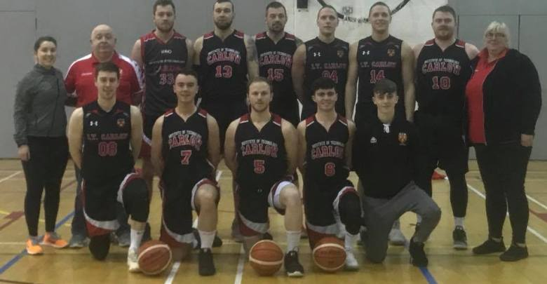 IT Carlow Basketball Men's team. Photo: IT Carlow Basketball/Facebook