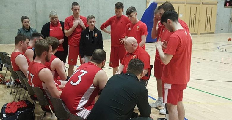 IT Carlow men's basketball side. Photo: Martin Conroy/Facebook
