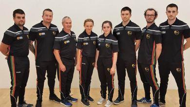 Carlow players heading for the World Handball Championships