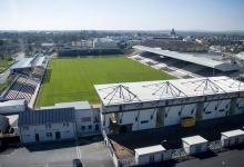 An aerial shot of Nowlan Park. Photo © Ken McGuire