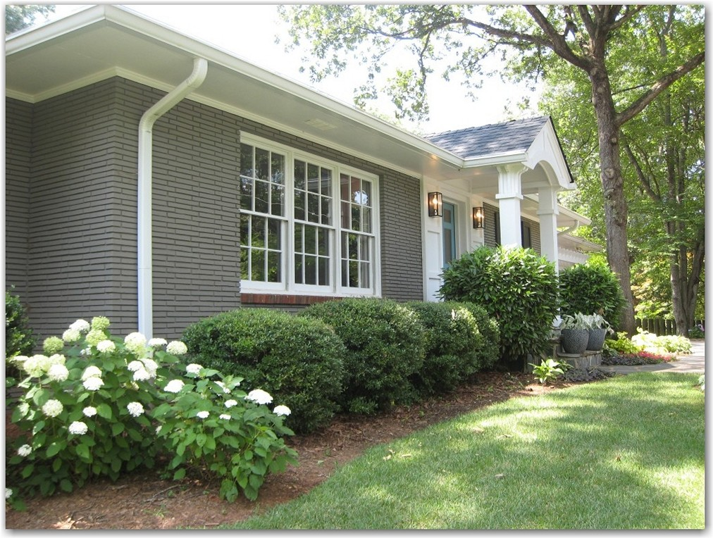 Painting Your Brick Or Stucco Home | Kansas City ... on Brick House Painting Ideas  id=30769