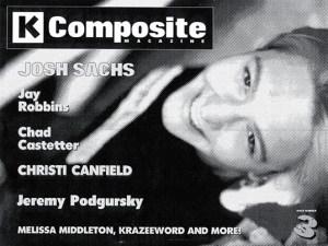 K Composite Magazine issue 3