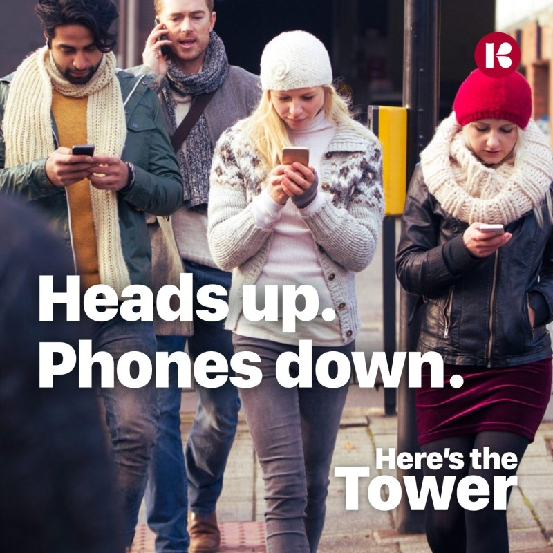 Here's the Tower - Heads Up Phones Down
