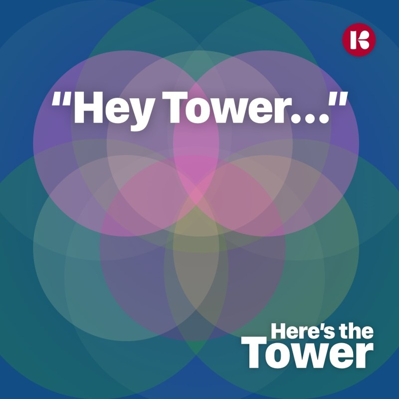 Here's the Tower - Hey Tower conversational interface smart speaker