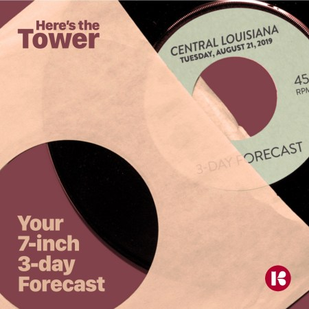 Here's the Tower - 7-inch Forecast
