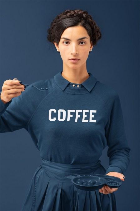 Coffee sweatshirt Animal House John Belushi
