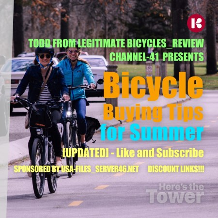 Here's the Tower - Bicycle Buying Tips