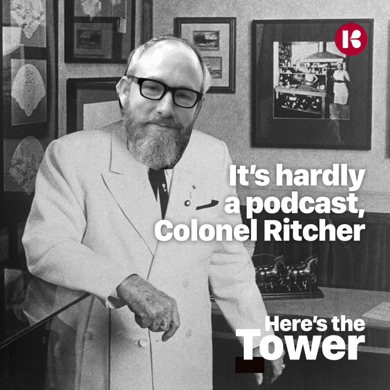 Here's the Tower, Colonel Scott Ritcher
