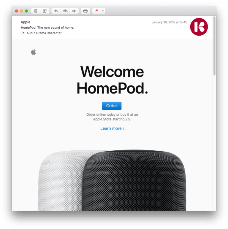 HomePod Here's the Tower