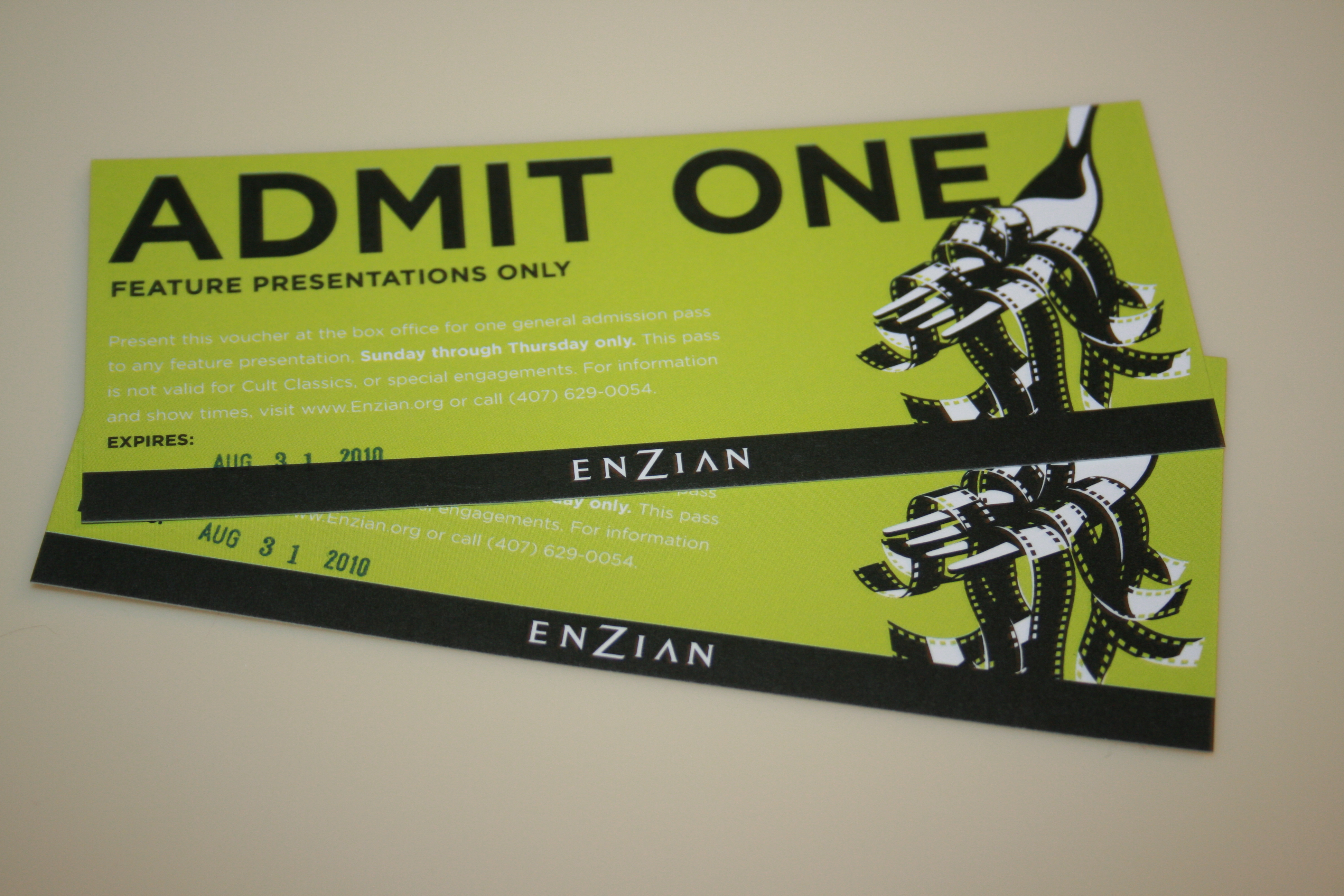 Enzian Tickets