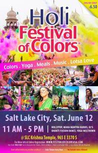 Holi Festival of Colors Salt Lake City @ Sri Sri Radha Krishna Temple Salt Lake City |  |  |