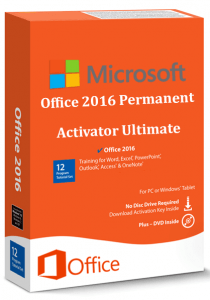 Office 2016 Permanent Activator Ultimate