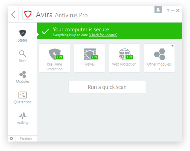 Avira Antivirus Pro Full Version Crack