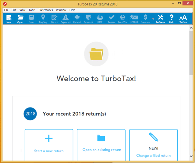 Intuit TurboTax 2018 Canada Edition Activation Key